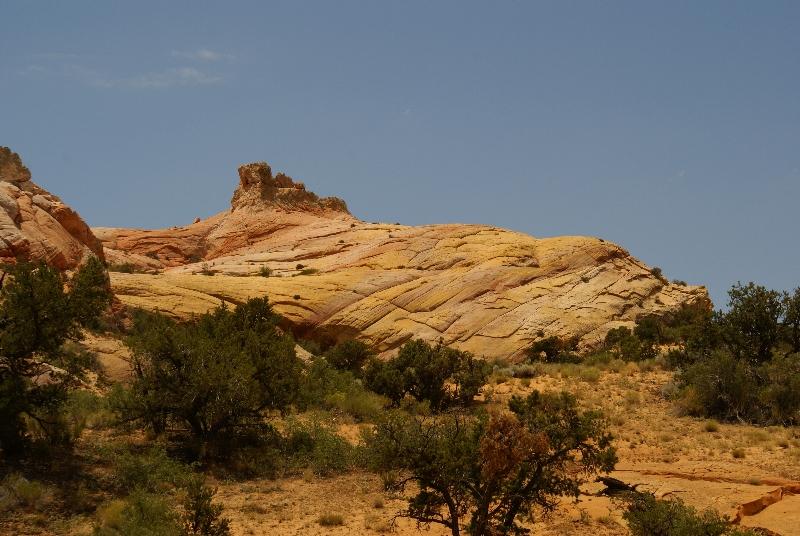 Rotsformatie bij Yellow Rock