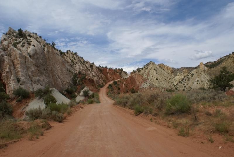 De Cottonwood Canyon Road