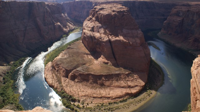 Amerikanen en hoefijzers - Wahweap, Arizona