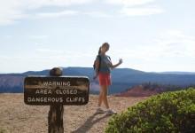 Oranje ... uhm, beneden? - Bryce Canyon City, Utah
